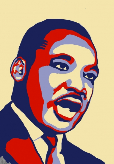 Martin Luther King by Clems.af
